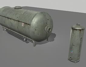 3D model Industrial Tank 3