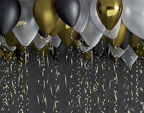 3D model celebration Balloons
