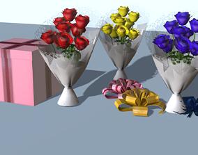 3D model animated Gift Set