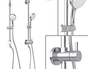 3D model Shower System Grohe Retrofit System 210