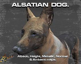 3D model ALSATIAN DOG