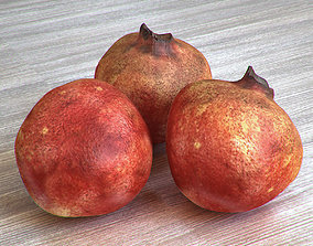 3D pomegrante
