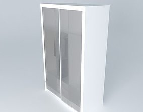 3D model Detailed closet