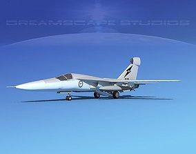 General Dynamics EF-111 Raven V05 RAAF 3D rigged