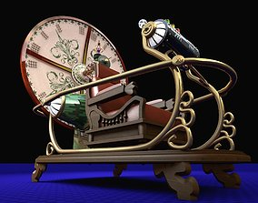 Time Machine old 3D model