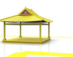 Korean Traditional HANOK 3D model