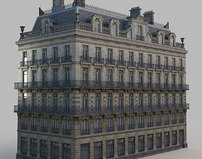 French residence 3D asset