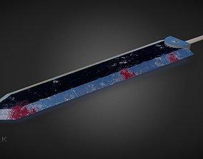 3D asset Berserk Sword Dragonslayer