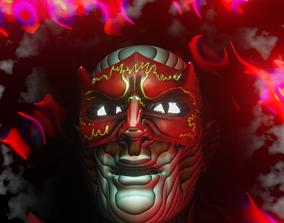 3D masked guy