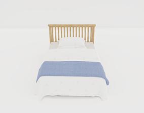 Noobist - Bed - Cozdimour 3D model