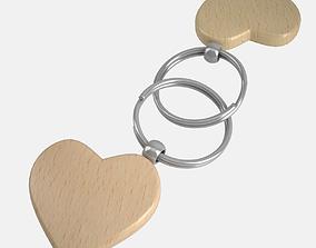 3D Key Chain Heart