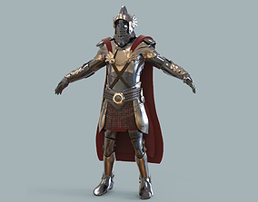 3D model Medieval armour fantasy game