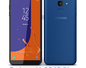 Samsung Galaxy J6 2018 Blue 3D model
