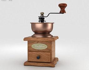 3D Rosewood Coffee Grinder