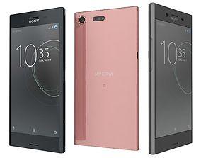 3D Sony Xperia XZ Premium All Colors