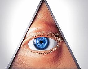 3D Illuminati Symbol