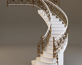 classical Staircase 3D model
