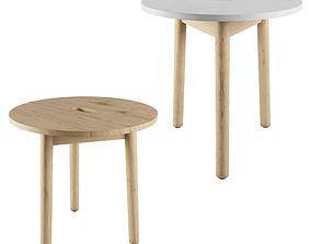 Riva Side table By Jasper morrison 3D model