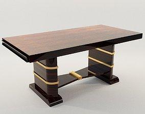 3D model Dining table - Art Deco 1920 deco