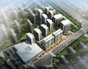 3d building 557