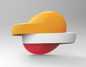 Repsol 3D Logo