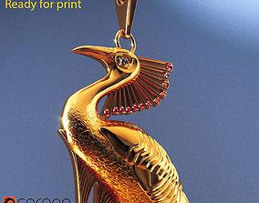 3D print model Peacock necklace