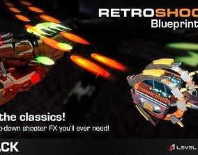 Retro Shooter FX Pack - Unreal Engine 4 3D asset