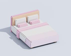 3D asset Voxel Bed T1