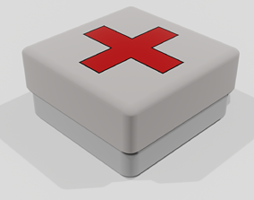 health kit 3d model for game game-ready
