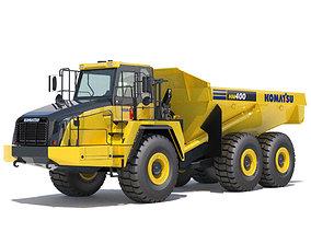 3D model Articulated Dump Truck Komatsu HM400-5