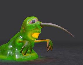 Slime monster 3D model
