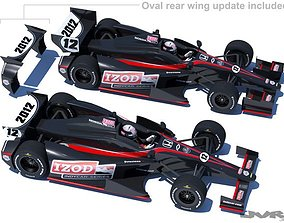 3D model IndyCar 2012 DW001