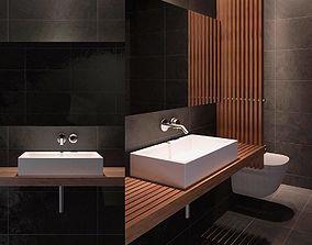 3D model sink Modern Bathroom