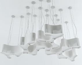 Ameba Lamp Parts 3D model