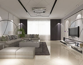 v-ray Modern Interior 3D