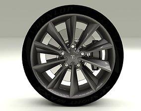 VR / AR ready Tesla Model S Wheel