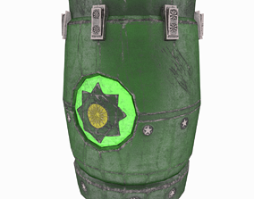 Mysterious Barrel 3D model