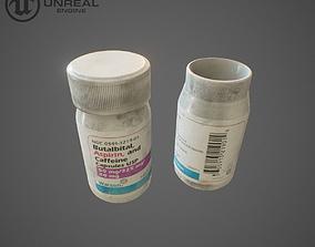 3D asset Medical pills