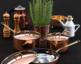 3D model Copper Tableware