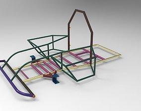 3D model Go-Kart Chassis