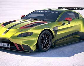 3D model Aston Martin Vantage GTE Racecar