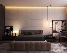 3D model Modern Master Bedroom V