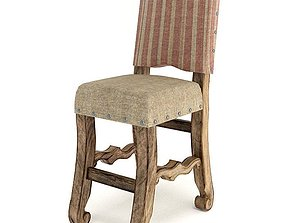 Wooden American Chair 3D