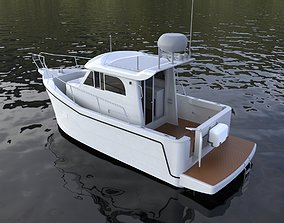 3D Complated Special Fisher Boat
