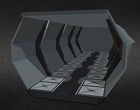 3D model game-ready Space Station