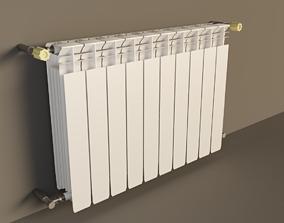 Heating radiator 3D model interion