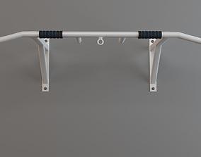 Horizontal Bar equipment 3D