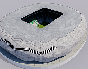 Education City Stadium - Al Rayyan 3D model