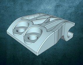 Holder for hinged lid ersatzteil 3D print model