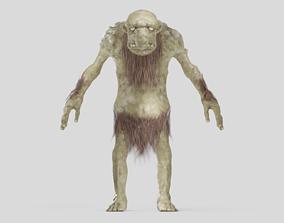 giant 3D Scandinavian troll